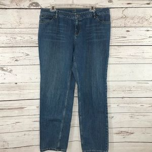 J. Jill Jeans Relaxed Fit Boyfriend Straight Leg